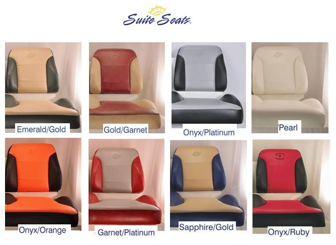 Suite Seat Color Chart